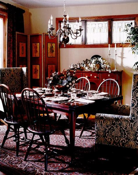 Colonial Dining Room | colonial dining room