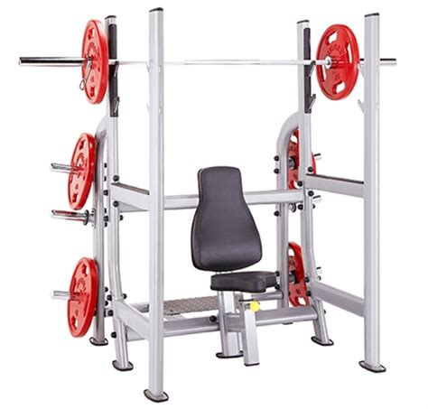 military bench press steelflex nomb olympic military bench