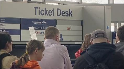 Bristol Airport Information Desk by News Bristol Airport Flights Cancelled Volcanic Ash