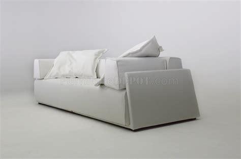White Fabric Modern Elegant Sofa White Fabric Sectional Sofa