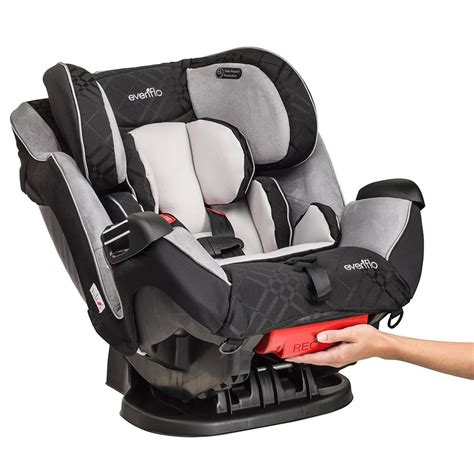 Evenflo Reclining Car Seat by Evenflo Symphony Lx Convertible Car Seat