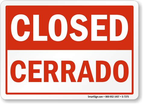 closed sign template temporarily closed sign template related keywords