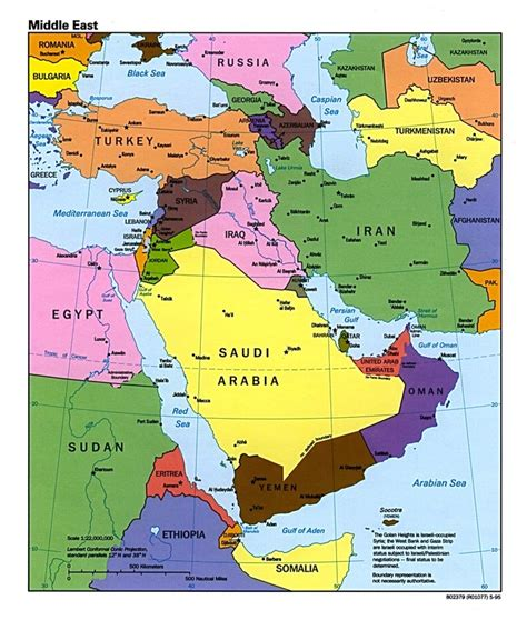 middle east map greece picture