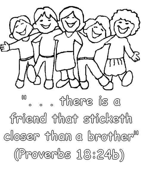 free coloring pages friendship coloring home