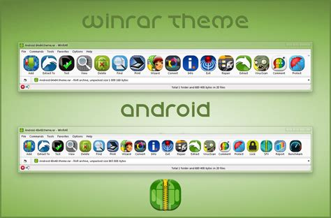 download themes windows 7 rar android winrar theme by alexgal23 on deviantart