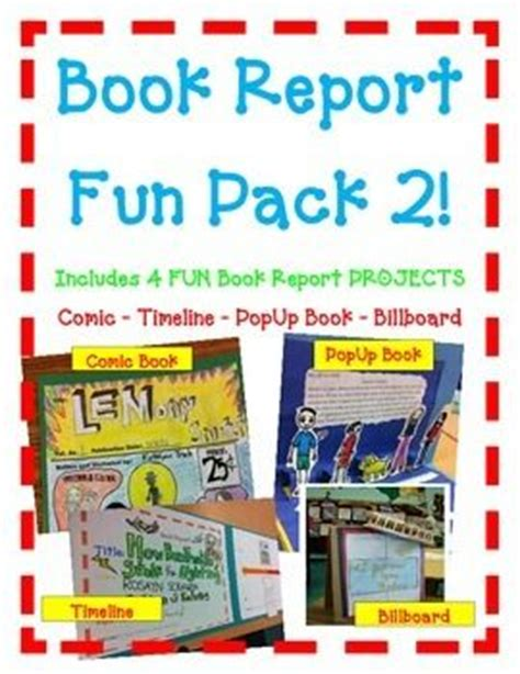 pop up book report book reports student work and comic books on