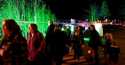 festival of light birmingham longbridge light festival returns birmingham mail