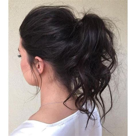 30 eye catching ways to style curly and wavy ponytails best 25 wavy ponytail ideas on