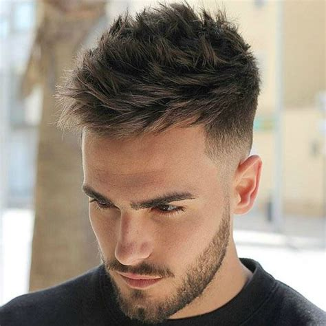 Low Fade With Bangs | 31 good haircuts for men low fade spikes and beards
