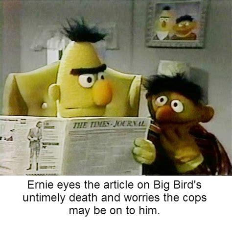 Dark Sesame Street Memes - dark bert and ernie memes page 3 of 6 the tasteless gentlemen
