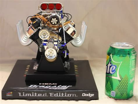 Die Cast Engine 1543 hemi dragster engine die cast model 1 6 scale the motor bookstore