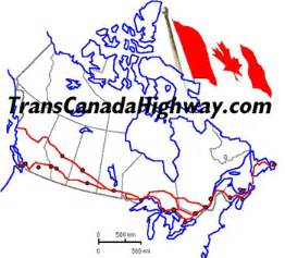 map of trans canada highway map of transcanada highway get domain pictures
