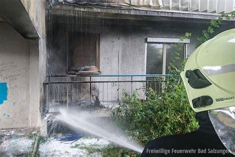 wohnung in bad salzungen balkonbrand 220 bergreifen auf wohnung wurde verhindert