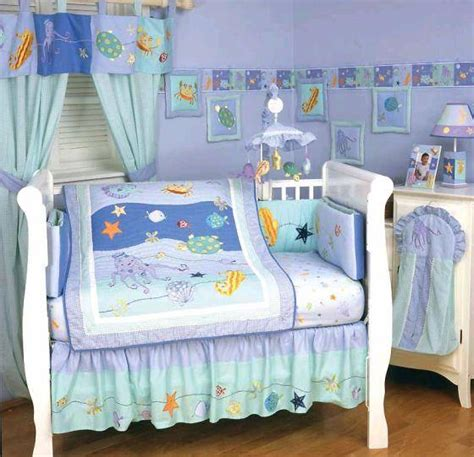 Underwater Crib Bedding Underwater Nursery Bedding Thenurseries