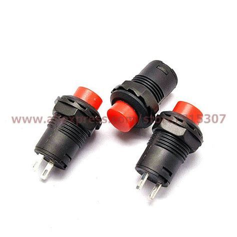 Push Button Onoff Ds 500 phiscale self locking push button switch latching on ds 425a 12mm in switches from