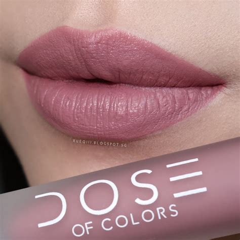 Color In Liquid by Dose Of Colors Liquid Matte Lipstick Review And Swatches