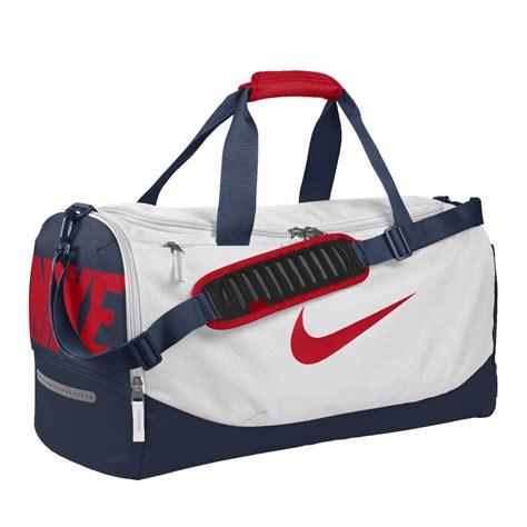 Tas Nike S Nike Club Duffel Bag 2 nike team max air id duffel bag medium white