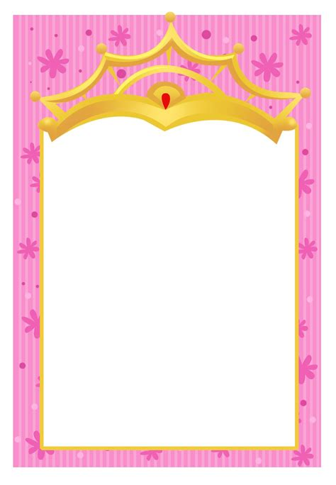 princess invites free templates free printable a princess invitation another free