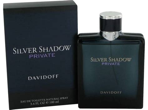 Parfum Silver Original silver shadow cologne for by davidoff