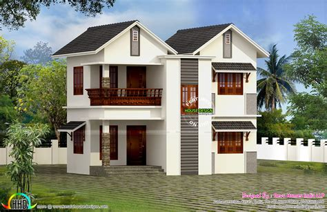vastu facing west home plan kerala home design and floor