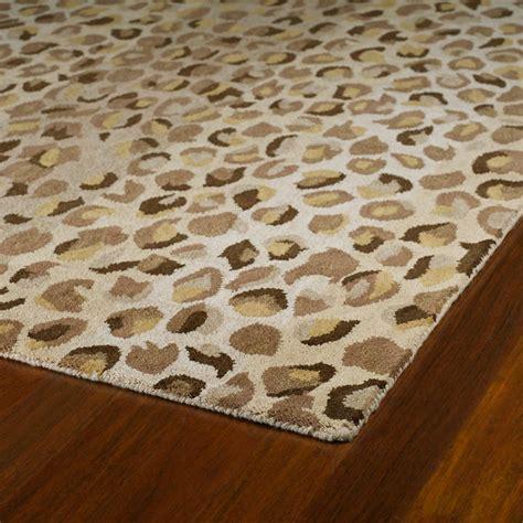 Cheetah Print Rug by Cheetah Print Rug In Mocha Rosenberryrooms