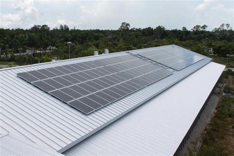 solar pannel roof attaching solar panels to metal roofs solar southwest florida