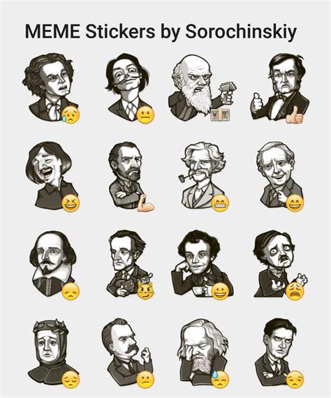 Meme Stickers - meme stickers by sorochinskiy sticker set stickers