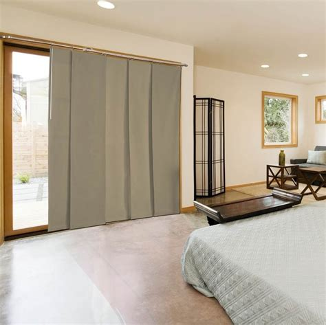 door panel upholstery material sliding door fabric panel system my home ideas pinterest