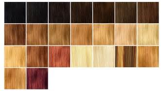 strawberry hair color chart strawberry