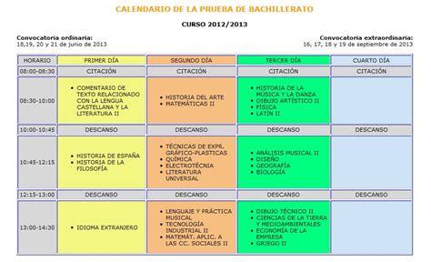 Calendario Escolar Uca Calendario De Selectividad 2013 En Andaluc 237 A