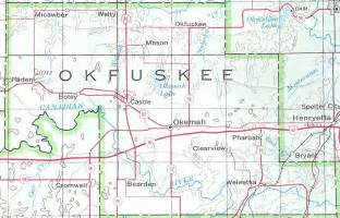 United States Department Of Interior File Okfuskee County Map 1972 Jpg Wikimedia Commons