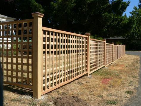 Small Lattice Fence Panels Fence Marvelous Lattice Fence Ideas Square Lattice Fence