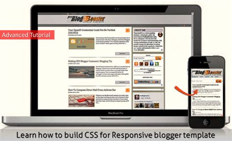 advanced blogger tutorial pdf how to build responsive blogger template css advanced