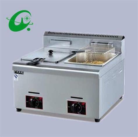 Fryer Gas Butterfly 6 Liter counter top gas fryer 6l tank 2 tanks 3 baskets gas chicken fryer in electric