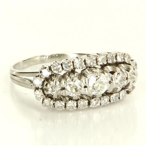 deco 900 platinum anniversary band ring