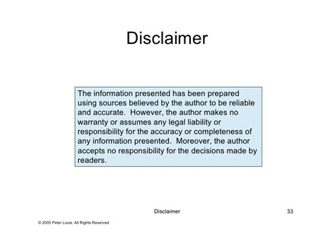 business disclaimer template 28 images delighted