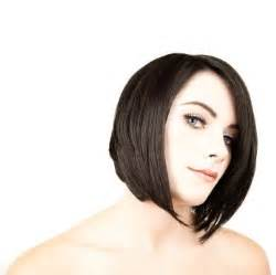 angled hair in front short hairstyles front and back