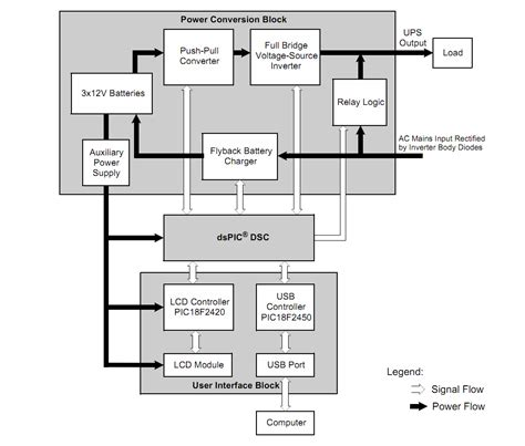 ups wiring diagram ups electronics and electrical engineering design forum