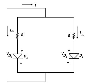 parallel resistor with diode diodes in parallel d e notes