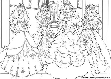 lindos desenhos da barbie  colorir ideias mix