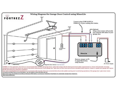 wiring diagram for linear garage door opener the wiring