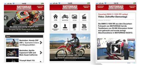 Motorrad Tourenplaner Iphone Navigon by Motorrad App Motorrad News