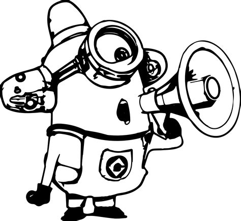 minion coloring page clipart minion coloring pages coloringsuite com