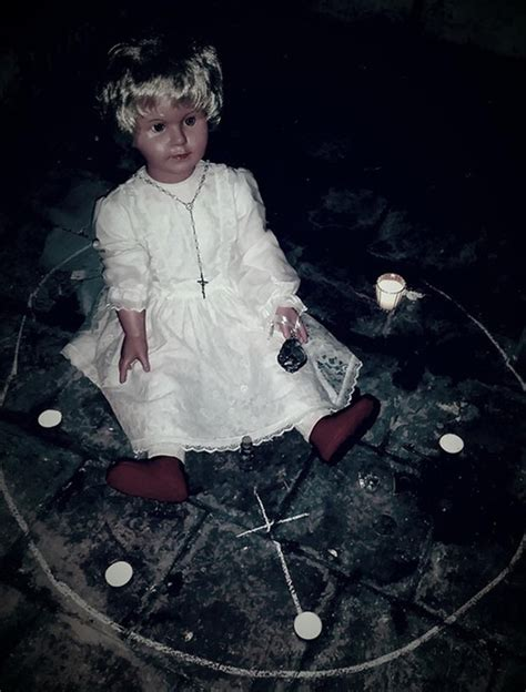 haunted doll experiences haunted doll causes chest pains sickness and visions