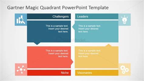 garter templates flat gartner magic quadrant for powerpoint slidemodel