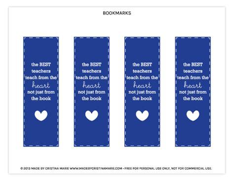 printable bookmarks for teacher appreciation free printable teacher appreciation bookmarks