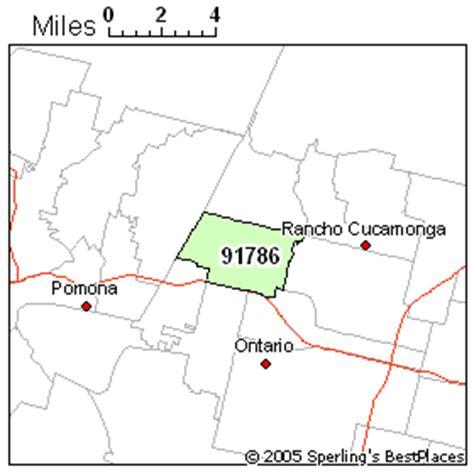 zip code map upland ca best place to live in upland zip 91786 california