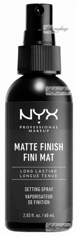 Nyx Finish Matte nyx professional makeup matte finish fini mat