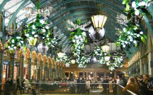 Hanging Chandeliers Blackout Brings Christmas To Covent Garden Access All Areas