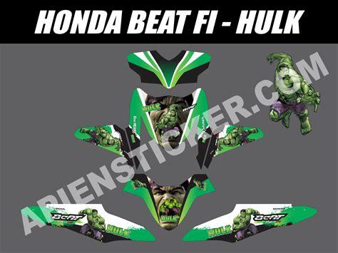Sticker Striping Motor Honda Beat Fi Esp striping motor beat fi apien sticker